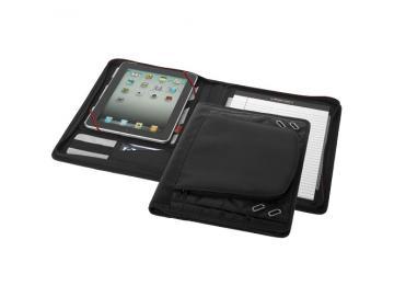 iPad-Huelle mit Notizbuch