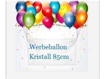 Werbeballons-Kristall 85 cm